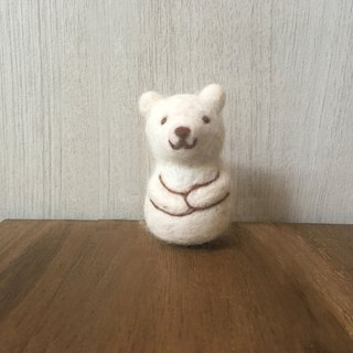 ◆ Matryoshka felt doll - polar bear◆