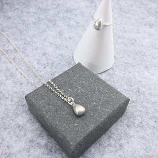 [Department of] natural seed necklace seed necklace - Silver -