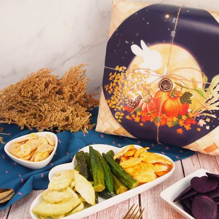 [afternoon snack light] Chunshen gift box - vegetable and fruit chips group