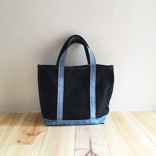 A ROOM MODEL - VINTAGE - LLBean Dark Blue Tote / BD-085