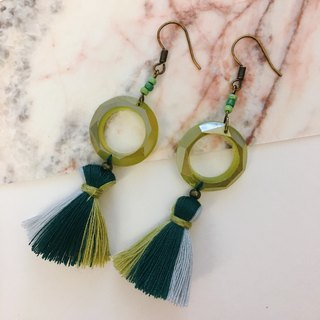Lost Forest Fringe Earrings Earrings