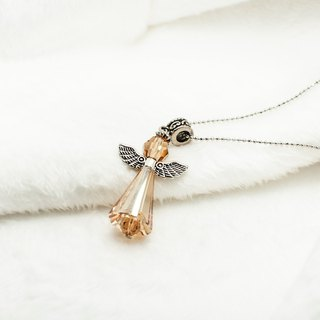 Guardian Angel Necklace (5 colors) Swarovski