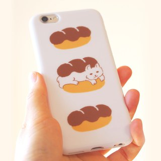 Plastic android phone case - Cat Sandwich -