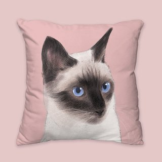 [I will love you forever] Classic Siamese cat pillow animal pillow / pillow / cushion