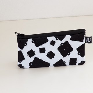 LU Canvas Small Pouch (square)