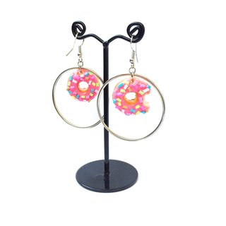 New Donut earring