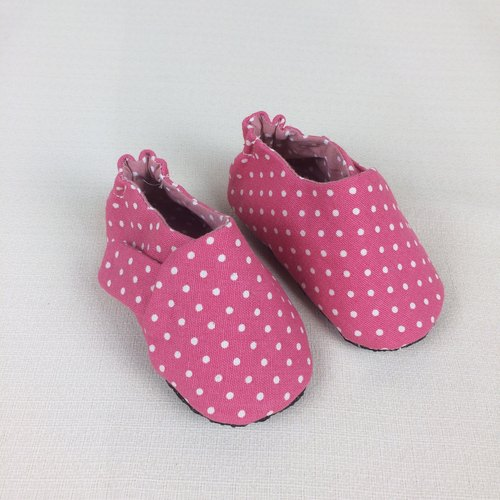 Va Handmade Shoes Series Pink Canvas Shoes