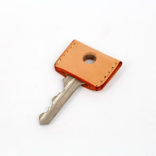 MOOS key leather cover Italian tanned leather