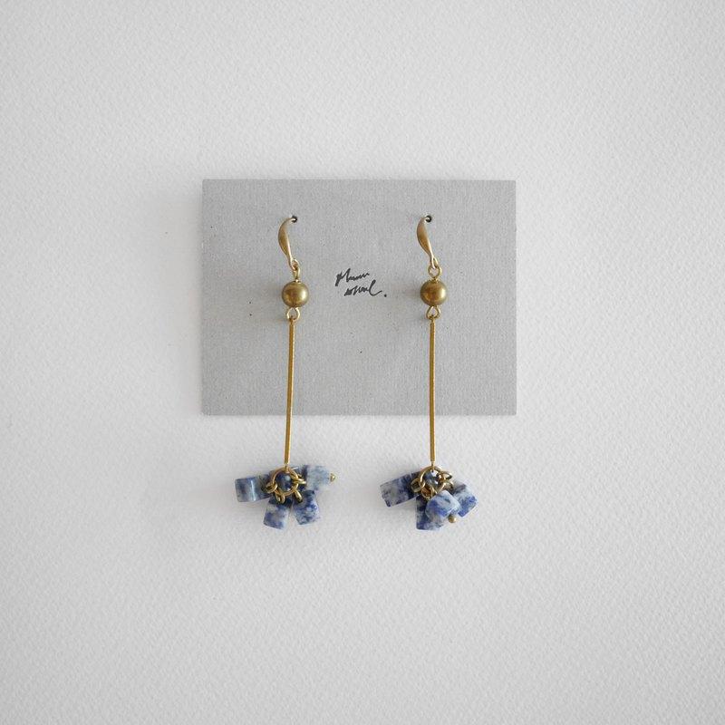 耳環 ピアス / イヤリング    方石