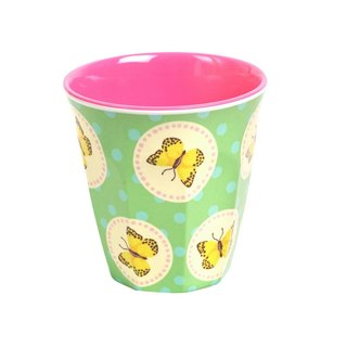 Retro Butterfly S Cup - Green