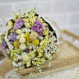 [Cylinder] dried bouquet - eternal flower / dried flower / bouquet jewelry / wedding bouquets Bouquet / Flower Ceremony