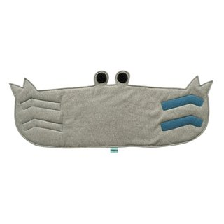 CLARECHEN anti-cool belly crab (L) 3-6 years old simple gray