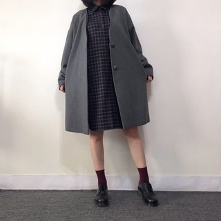 Hand-made gray coat - the last piece