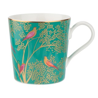 Sara Miller London for Portmeirion Chelsea Collection Mug - Dark Green