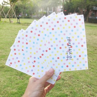 Dear spend big nose own set of postcards (8 dots into)