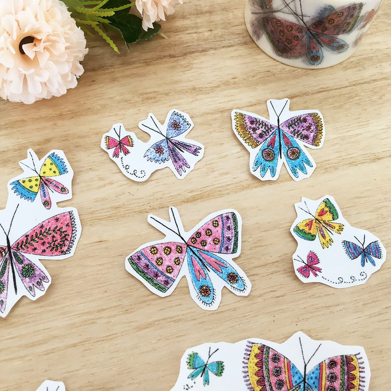 Aimez le style wild beauty deer and paper tape [butterfly] A01498