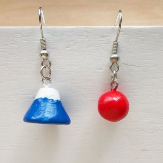 Mount Fuji / earrings / ear hook