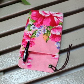 Pocket pencil bag leakproof ink storage bag physician robe pen bag ~ blooming flowers