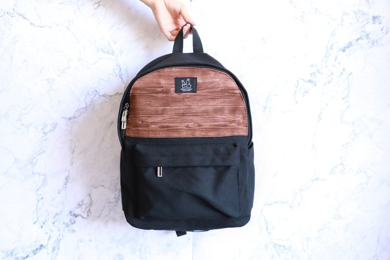 Backpack - Vintage Red Wood Grain