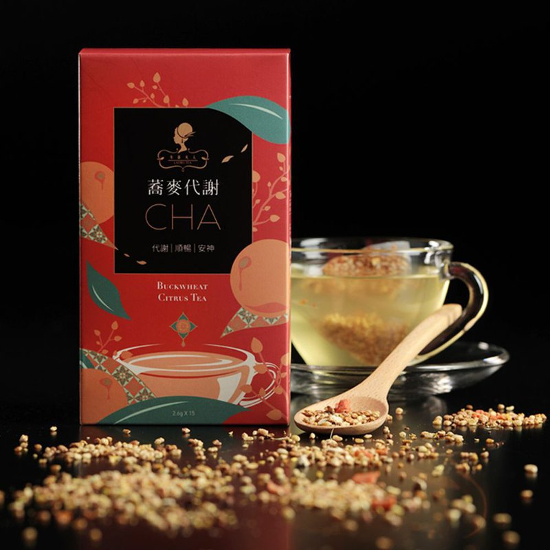 Quinoa Metabolism Tea (15 in / box) │ triangle three-dimensional tea bag ‧ no caffeine ‧ healthy and healthy