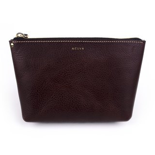 [Minerva]|Cosmetic Pouch [L]|Zipper Toiletry Makeup Bag
