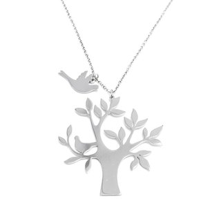 Tree with small bird pendant