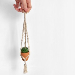 Rope _ Mini Pot Ornaments _ I