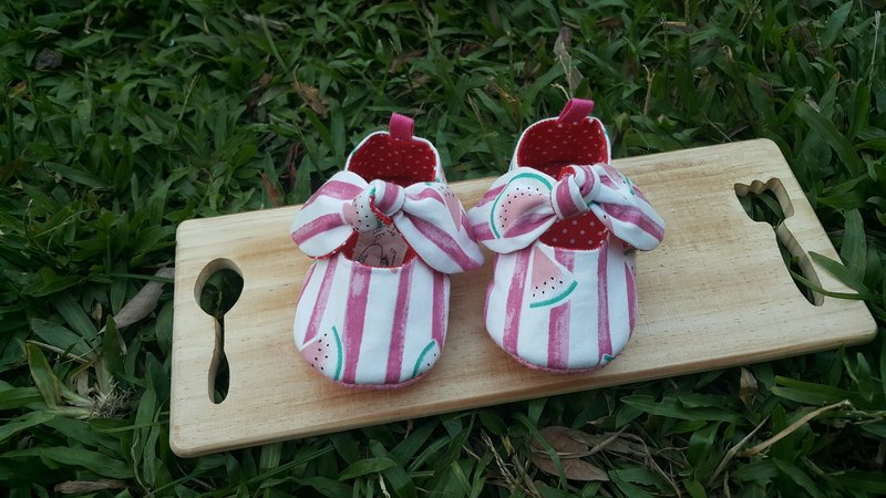 Watermelon girl baby toddler shoes (12cm)