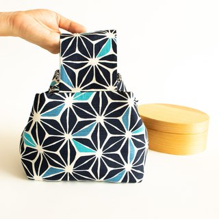 Kumiko Bento bag / Japanese style lunch bag / Excluding Lunch box Birthday gift.