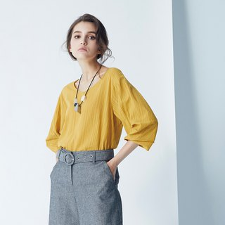 AEVEA Summer Loose Cropped Sleeve Top