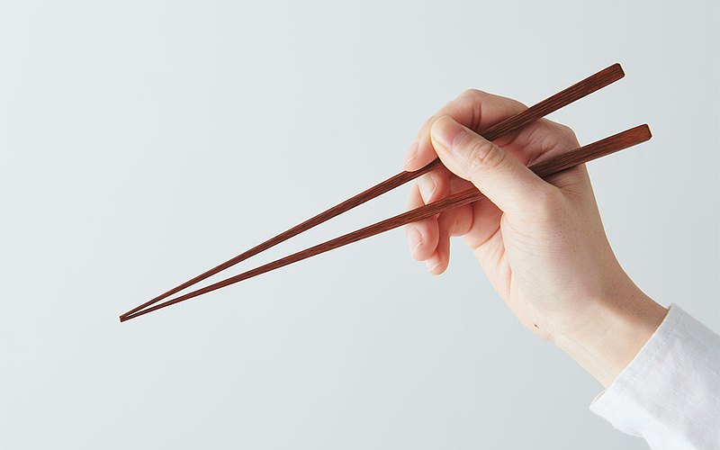 Bamboo chopsticks fumigation smoked bamboo wipe lacquer 24cm