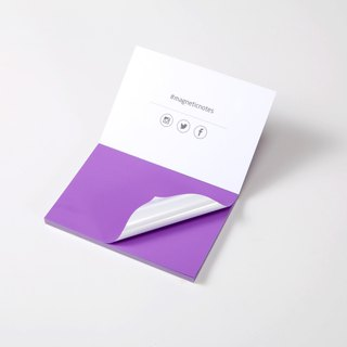 /Tesla Amazing/ Magnetic Notes S-Size purple