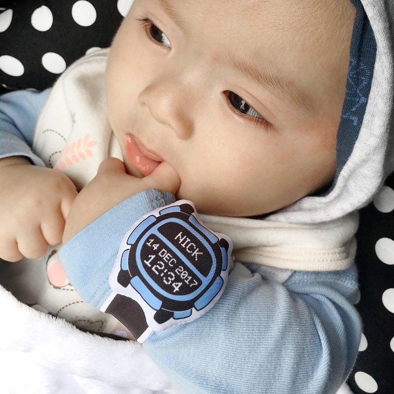 我的第一隻布手錶(客製化)My first Baby Watch (D08A04)