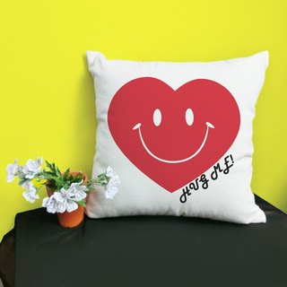 [Valentine 's Day] Hug me cotton two - color canvas pillow - home decoration