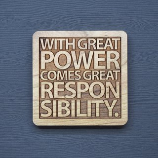 In a word, the greater the ability of the log coaster, the greater the responsibility