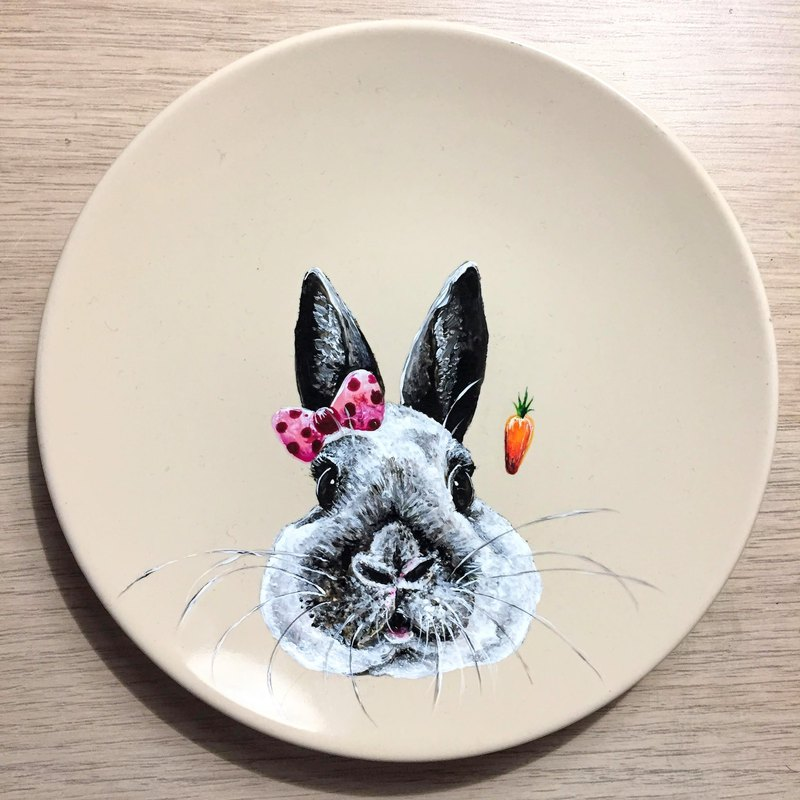 Only this one! Bow rabbit bunny
