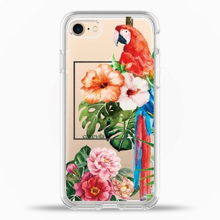 iPhone7/8/7Plus/8Plus Case Attractive floral Original Design Romantic Series TPU2.0+PC Side Protection