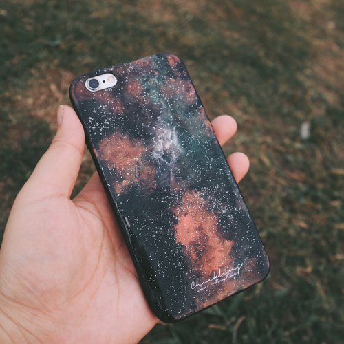 Hello Universe! Ll Core ll series of hand-painted oil painting style Phone Case