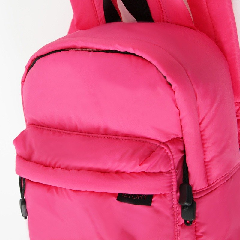 Backpack (small). Black pink ╳