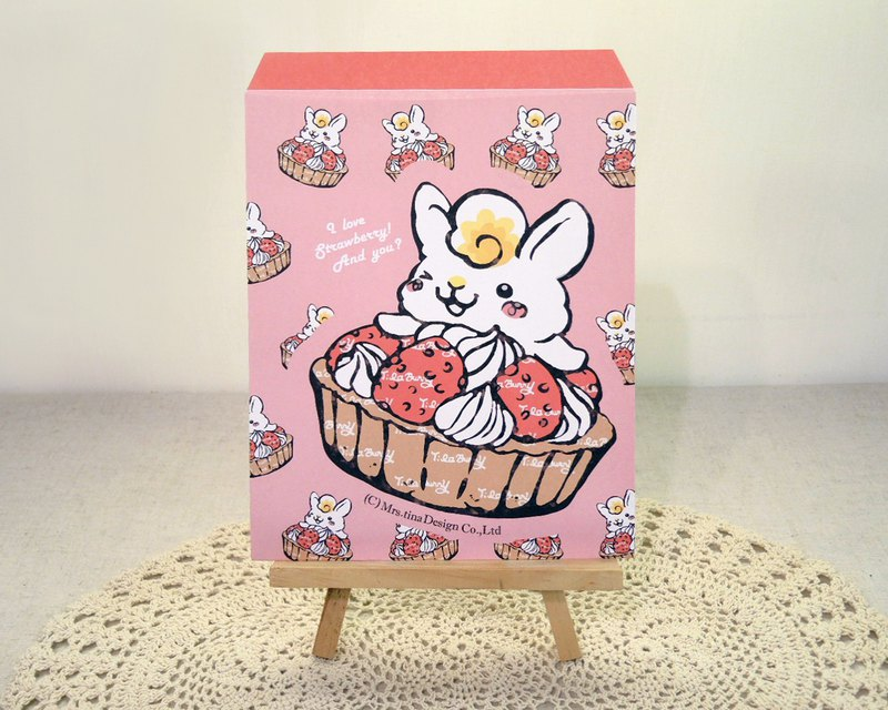 Paper Envelope-Strawberry Tart Bunny(Large)