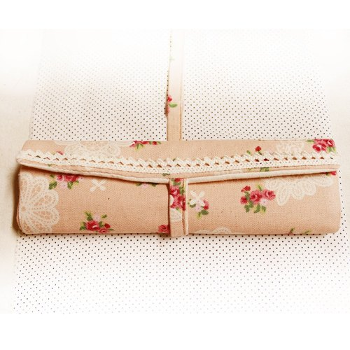 [Ten meters of wood. Lorenza] warm tableware bags - bags Rose Garden picnic tableware Rustic Style Living