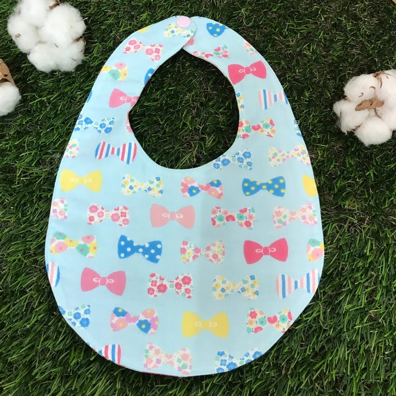Double-sided bib - bow