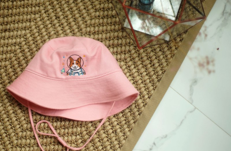 Bucket Hat (Colour : Pink)