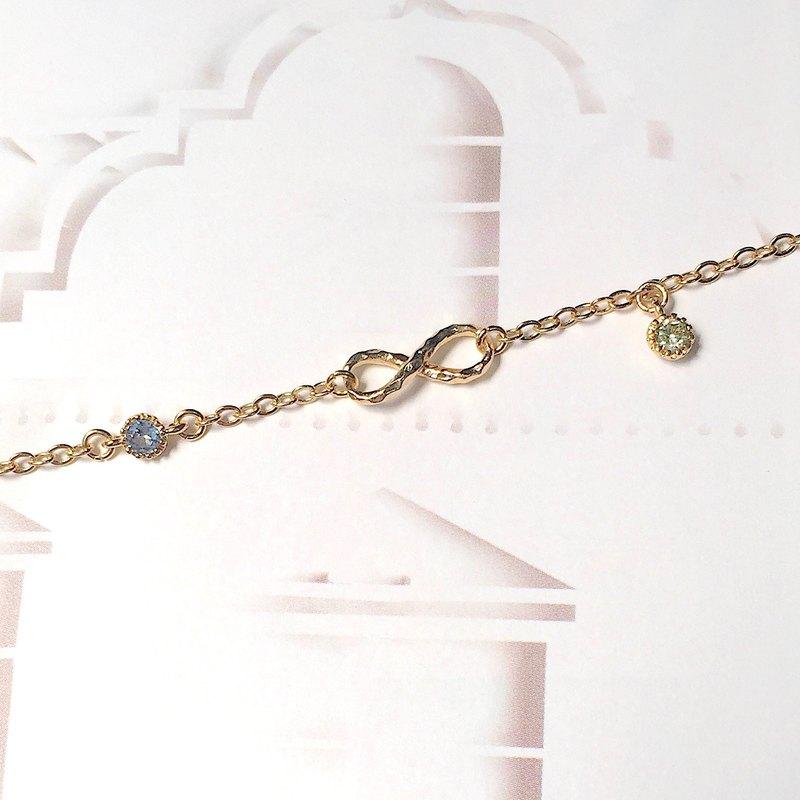 無限寶石(三款) | 無限記號 | 金色手鍊