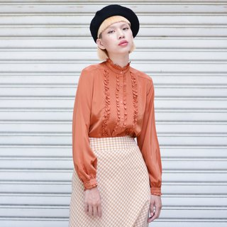 Persimmon | Long-sleeved vintage shirt