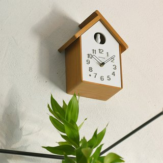 Dodeka- 咕咕布谷鸟时时clock wall clock (natural)