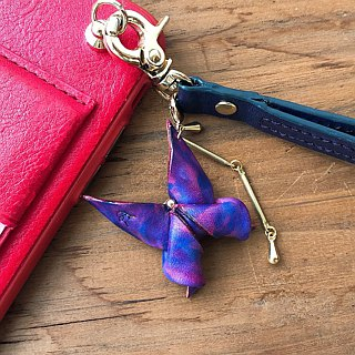 Origami series - morphing butterfly mobile phone strap - a variety of models