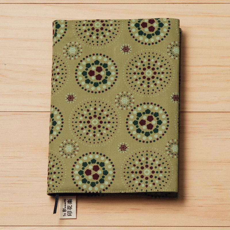 25K Book Cover / Firework / Green Olive