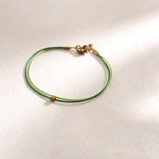 Charlene traction - very thin line of silk hand rope - hand made bracelet bracelet to chain anklet necklace 07b