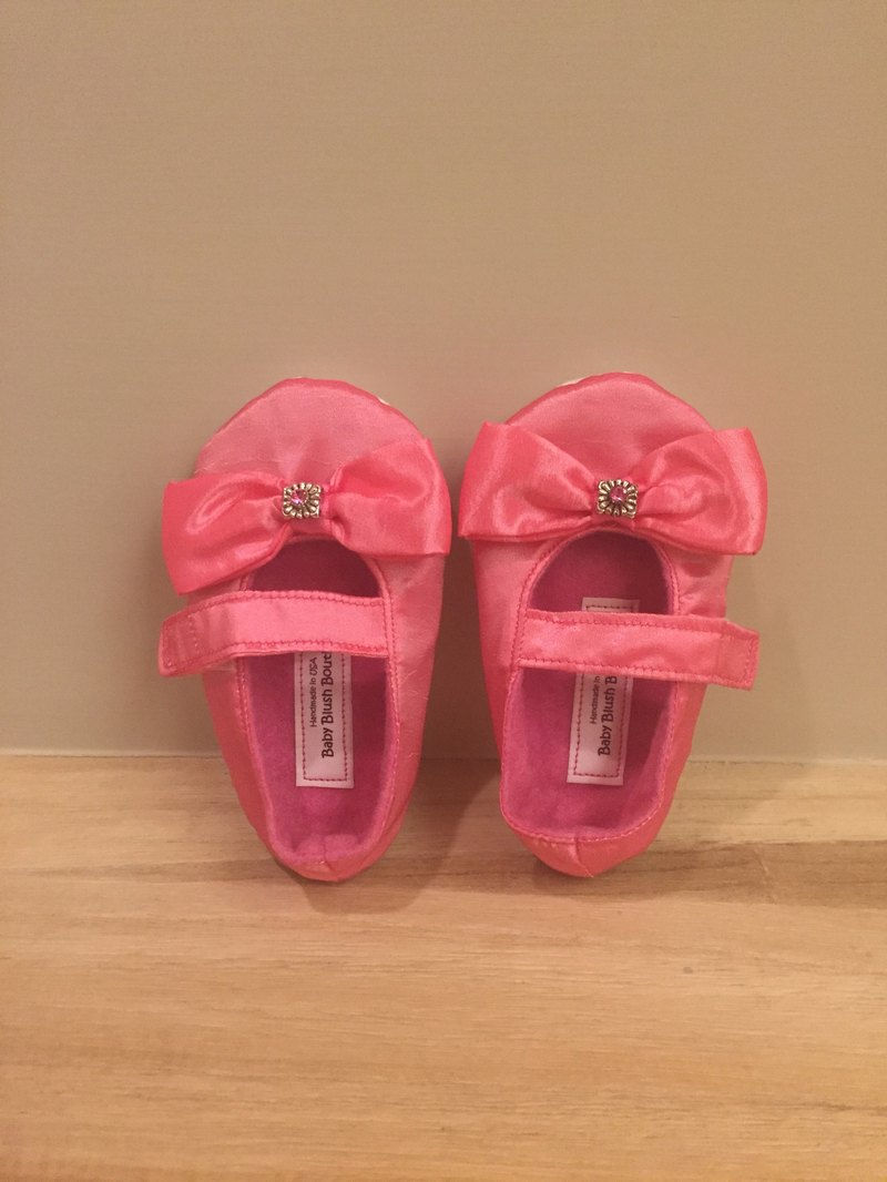 American imported fashion handmade toddler shoes (pink models)